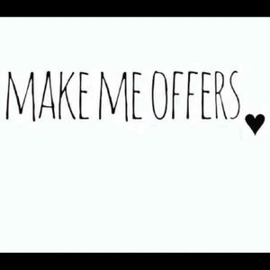 Other - MAKE ME OFFERS 💜💜💜💜